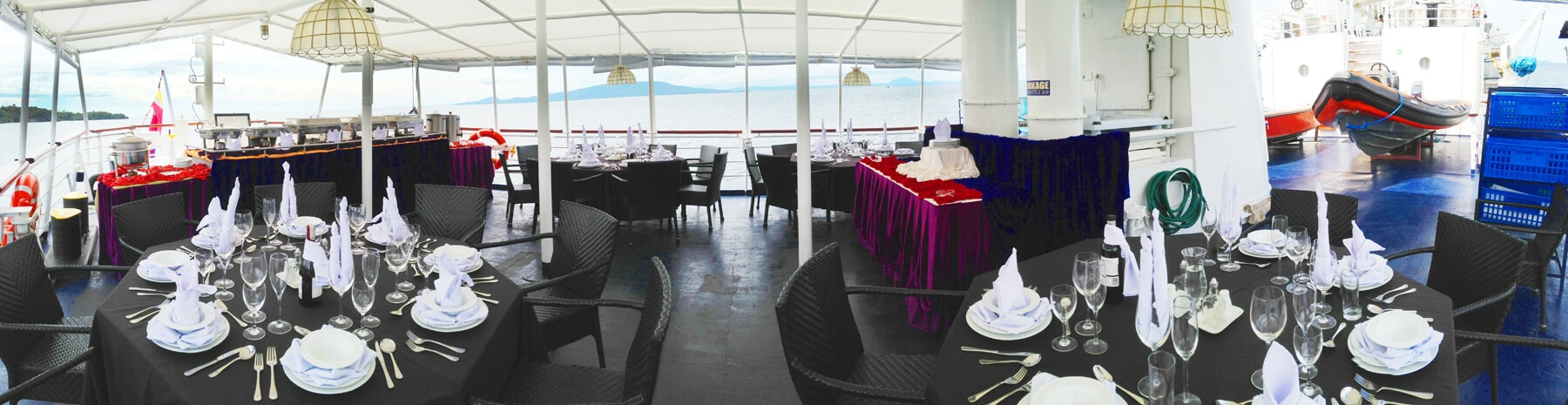 Dining Deck Panorama medium