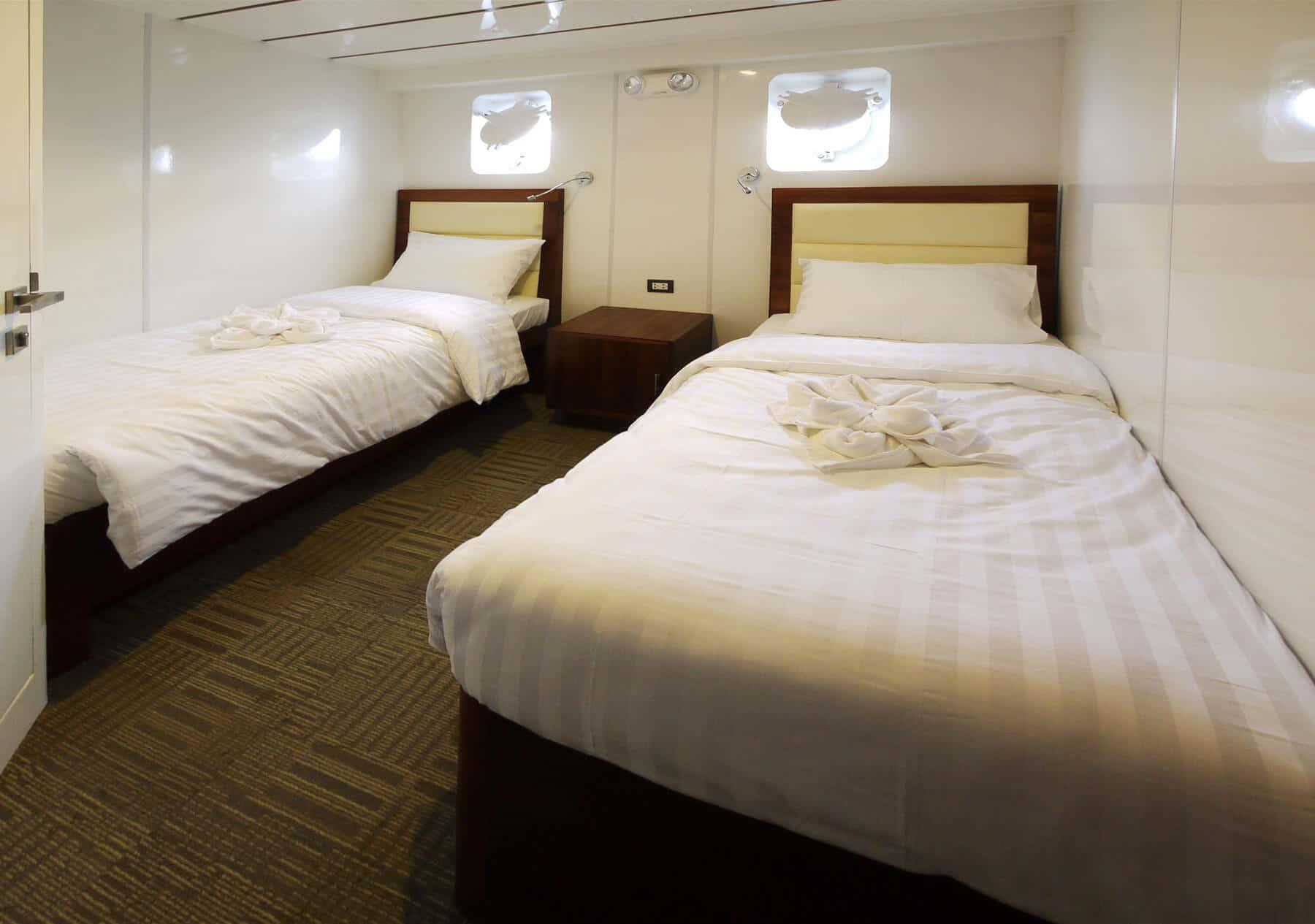 Standard Cabin - Twin Bed