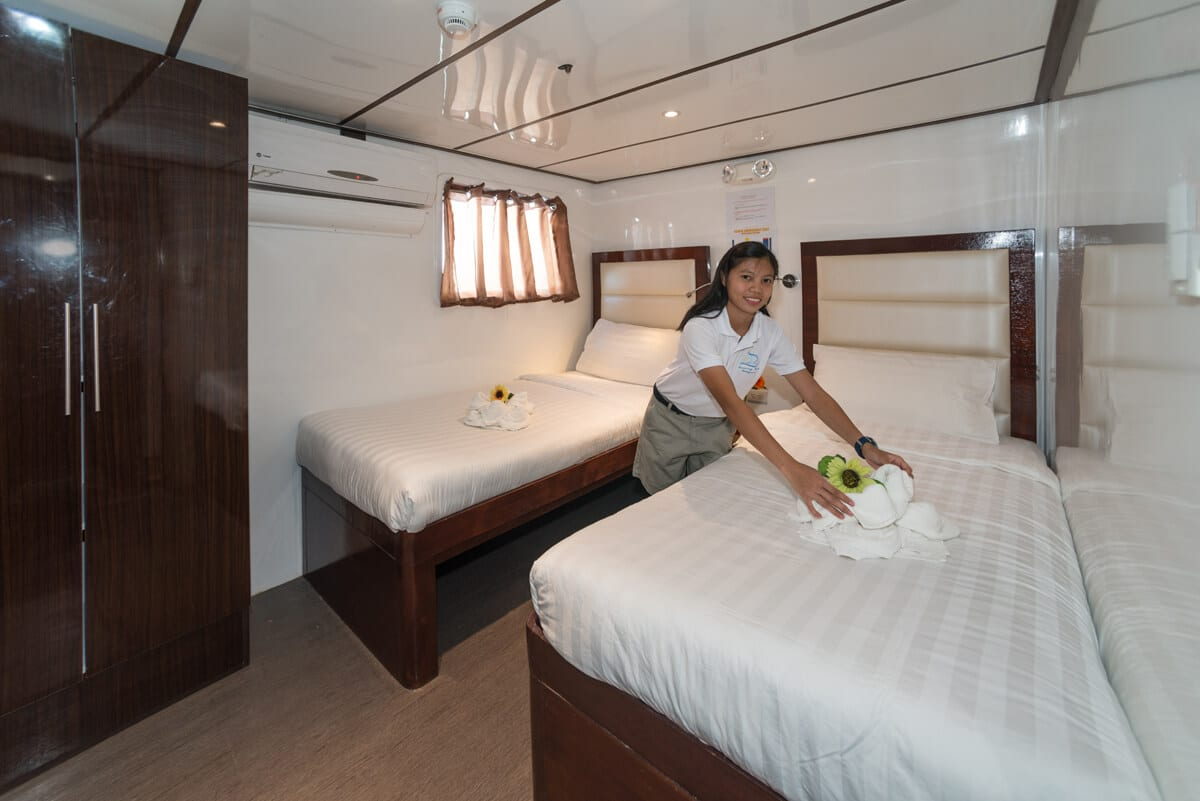 Upper Deck Cabin - Twin Bed (1)