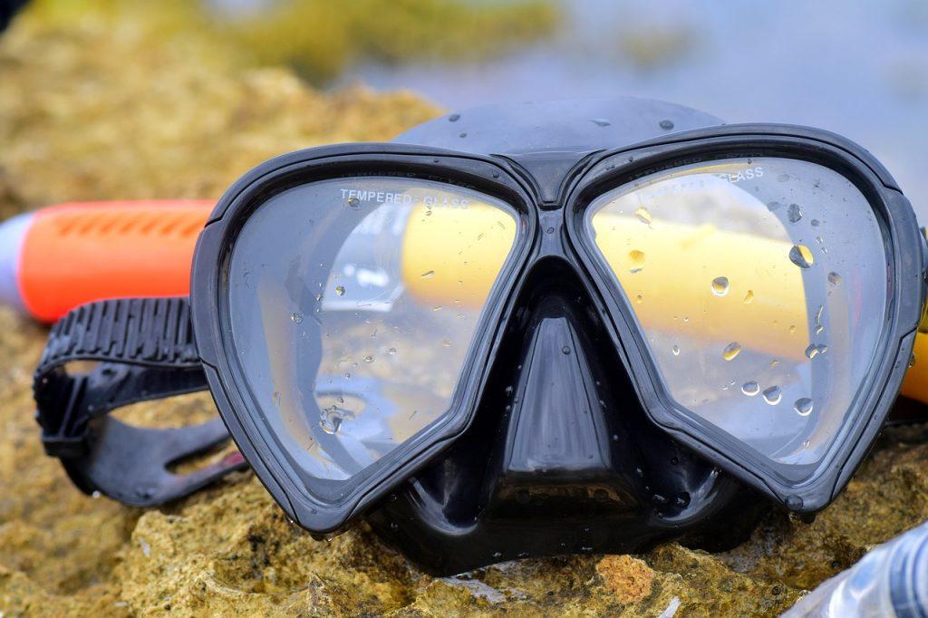 disinfect dive equipment