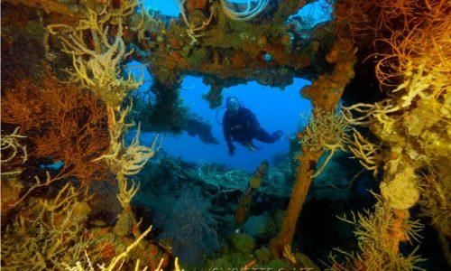 black island wreck